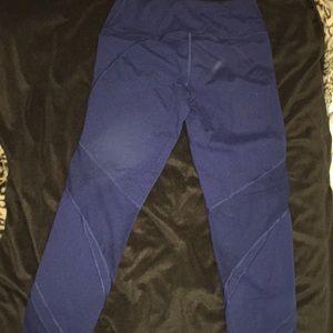 Dark Blue Victoria's Sport Leggings